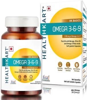 Healthkart Omega 3 6 9 90 Capsules Price In India Buy