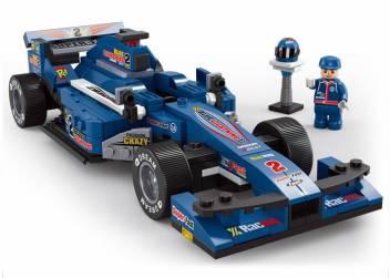 Sluban Formula F1 Racing Car Building Block Toys For Kids Lego Compatible Educational Toys M38 B0353 287 Pcs Formula F1 Racing Car Building Block Toys For Kids Lego Compatible Educational Toys