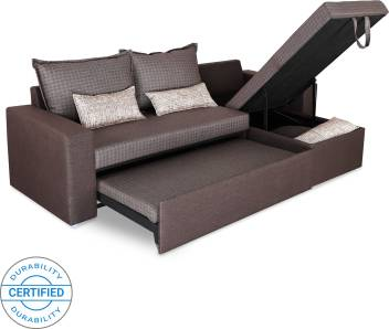 Sofame Rio Double Sofa Sectional Bed