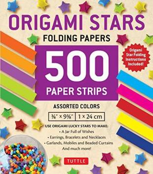 origami lucky star kit | hedgehogshop | 352x310