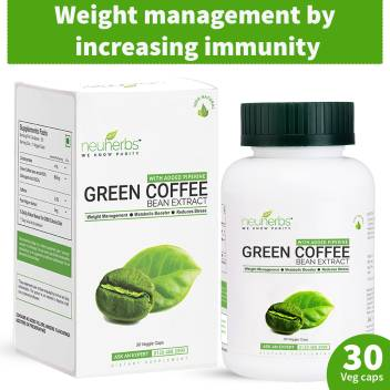 Neuherbs Green Coffee Bean Extract Capsules For Weight Loss 800 Mg