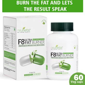 Neuherbs F8 Ultra Fat Burner With Added Green Coffee Green Tea