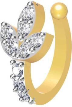 Vlp Moonstone Brass Nose Ring Price In India Buy Vlp Moonstone