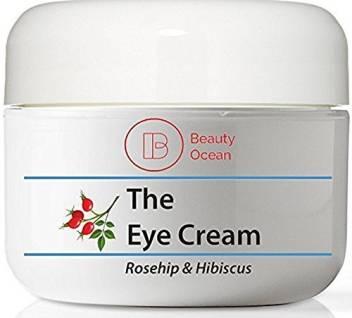 Beauty Ocean Eye Cream Rosehip Hibiscus 1 2 Oz For Anti Aging