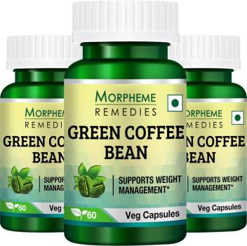Morpheme Remedies Green Coffee Beans Extract Pack Of 3 Price In
