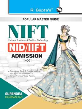Nift Nid Iift Admission Test Guide Design Technology Management Courses Buy Nift Nid Iift Admission Test Guide Design Technology Management Courses By Surendra Kavimandan At Low Price In India Flipkart Com