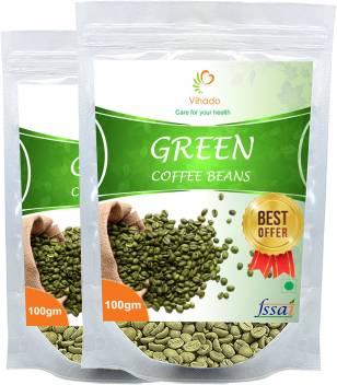 Vihado Organic Arabica Premium Green Coffee Beans 100 Pure
