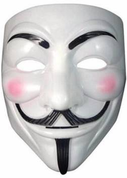 Theme My Party V For Vendetta Comic Face Mask Anonymous Guy Fawkes