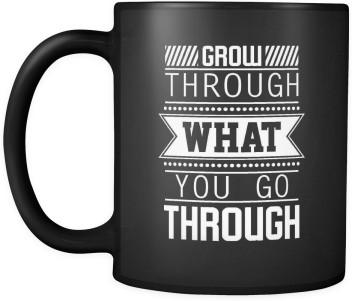 sky dot® grow through what you go through inspirational
