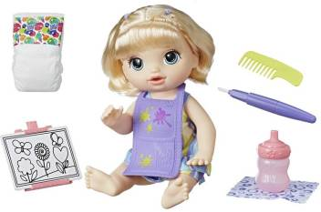 Baby Alive Ba Finger Paint Baby Blonde Ba Finger Paint Baby Blonde Buy No Character Toys In India Shop For Baby Alive Products In India Flipkart Com