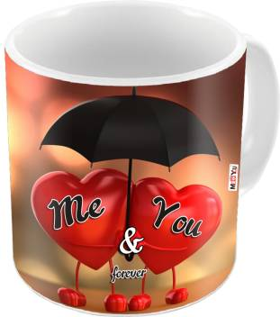 Me You Gift For Wife Husband Girlfriend Boyfriend On Birthday Valentines Day And Anniversary Iz18dtlovemu 097 Ceramic Mug Price In India Buy Me You Gift For Wife Husband Girlfriend Boyfriend On Birthday Valentines Day