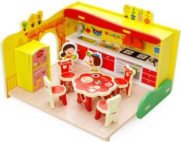 Jack Royal 3d Wooden Dream Kitchen Puzzle Set Price In India Buy