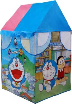 Indusbay Doraemon Theme Play House Pipe Tent House Fun Cottage For Indoor Or Outdoor Activity For Kids Doraemon Theme Play House Pipe Tent House Fun Cottage For Indoor Or