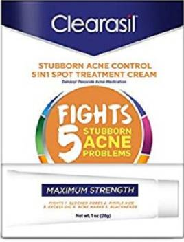 Clearasil Stubborn Acne Control 5 In 1 Spot Treatment Cream 1 Oz Price In India Buy Clearasil Stubborn Acne Control 5 In 1 Spot Treatment Cream 1 Oz Online At Flipkart Com