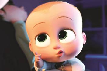 The Cute Boss Baby Paper Print Children Posters In India
