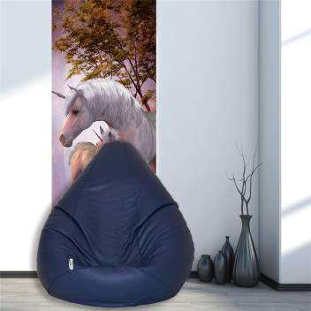 Surprising Flipkart Smartbuy Xl Teardrop Bean Bag Cover Without Beans Onthecornerstone Fun Painted Chair Ideas Images Onthecornerstoneorg