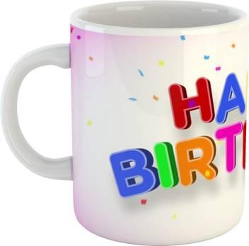 Teebuddy Happy Birthday Colorful Wordart Cake Ceramic Tea And Coffee Ceramic 350ml Ceramic Mug Price In India Buy Teebuddy Happy Birthday Colorful Wordart Cake Ceramic Tea And Coffee Ceramic 350ml Ceramic