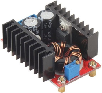 2PCS 150W DC-DC 10-32V to 12-35V Step Up Boost Converter Module Adjustable Power Voltage