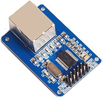 xcluma ENC28J60 ETHERNET LAN NETWORK MODULE SCHEMATIC FOR