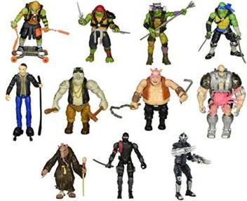 Combined Brands Teenage Mutant Ninja Turtles 5 Action Figure Set