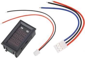Greenrabbit Digital Voltmeter Ammeter Dc 0 100v 10a Dual Led Red Blue Monitor Panel Voltmeter Price In India Buy Greenrabbit Digital Voltmeter Ammeter Dc 0 100v 10a Dual Led Red Blue Monitor Panel