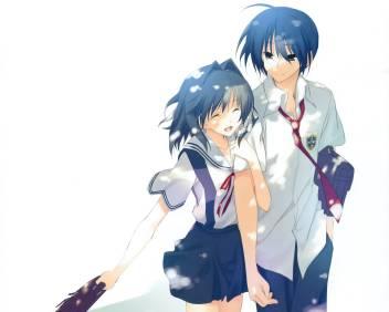 Athah Anime Clannad Tomoya Okazaki Ryou Fujibayashi 13 19 Inches