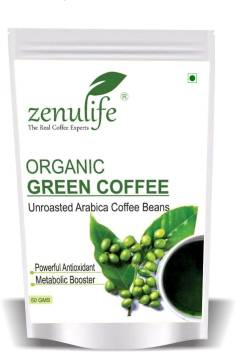 Zenulife Nutrition Green Coffee Beans For Weight Loss 50 Gm