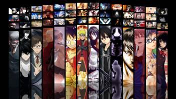 Athah Anime Crossover Kirito Kazuto Kirigaya Ken Kaneki Light Yagami Archer Kanade Tachibana Monkey D Luffy