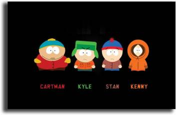 medium pixel artz south park characters art poster po 039 original imaf9n9yb6vzccsa