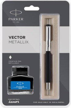 10 PARKER QUINK FLOW BP REFILL MEDIUM NIB BLACK INK WITH FREE WORLDWIDE SHIPPING