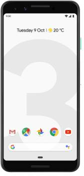 Google Pixel 3 (Clearly White, 128 GB)