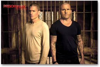 Hollywood Movie Wall Poster Prison Break Michael