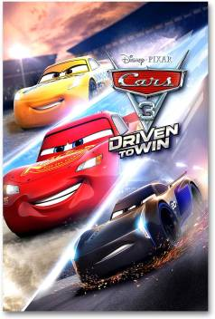 Hollywood Movie Wall Poster Cars 3 Driven To Win Hd Quality Movie Poster Paper Print Comics Posters In India Buy Art Film Design Movie Music Nature And