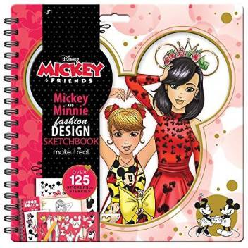 Make It Real Disney Mickey And Friends Fashion Design Sketchbook Mickey Mouse Minnie Mouse Fashion Design Coloring Book For Disney Mickey And Friends Fashion Design Sketchbook Mickey Mouse Minnie