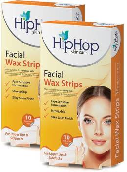 Hip Hop Facial Wax Strips Pack Of 2 Strips Price In India Buy