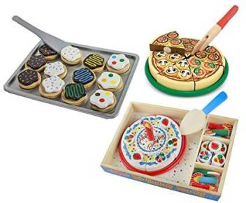 Groovy Maven Gifts Melissa Doug Pizza Party With Cookie Set And Funny Birthday Cards Online Alyptdamsfinfo