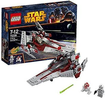 Lego Star Wars Revenge Of The Sith V Wing Starfighter W 2 Minifigures 75039 Star Wars Revenge Of The Sith V Wing Starfighter W 2 Minifigures 75039 Shop For Lego Products In India Flipkart Com
