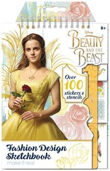 Make It Real Beauty And The Beast Disney Movie Fashion Design Sketch Book Art Kit Beauty And The Beast Disney Movie Fashion Design Sketch Book Art Kit Shop For Make