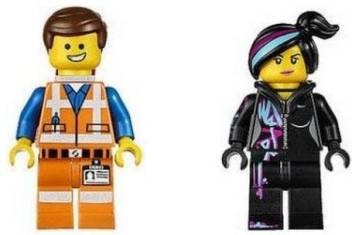 Lego Movie Emmet Wyldstyle Minifigures Set Movie Emmet Wyldstyle Minifigures Set Shop For Lego Products In India Flipkart Com