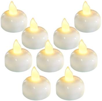 Osrpe Waterproof Flameless Floating Tealights Warm Yellow Battery Flickering Waterproof Flameless Candles Parties Wedding Indoor Outdoor Bathtub Spa Floating Pool Decor Candle Price In India Buy Osrpe Waterproof Flameless Floating Tealights Warm Yellow