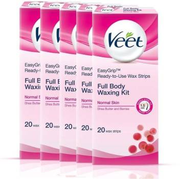 Veet Full Body Waxing Strips Strips Price In India Buy Veet