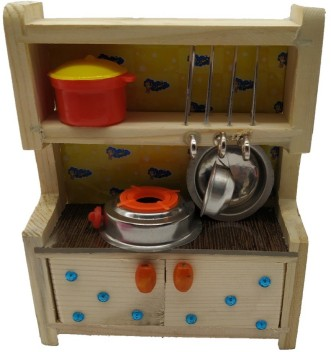Steel Kitchen Set Kids