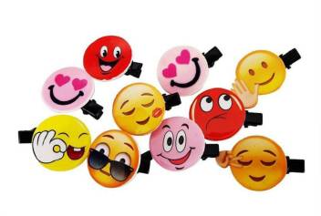 Smiley Emoji With Hair