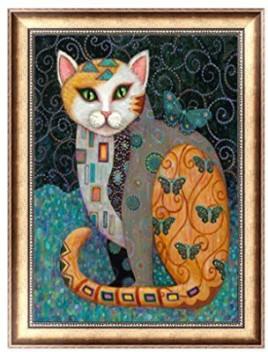 2020 Full Drill 5D Diamond Painting Small Cat DIY Cross Stitch Home Art Decor