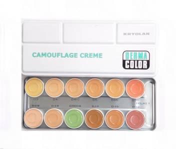 Derma Color Camouflage Cream Palette 12