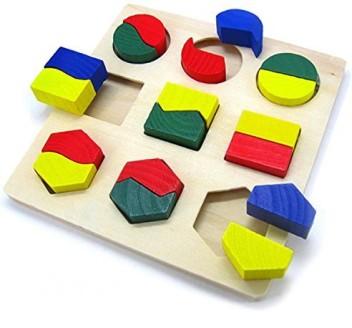 1Pc Animal Shape DIY Wooden Disassembly Combination Blocks Educational Toys