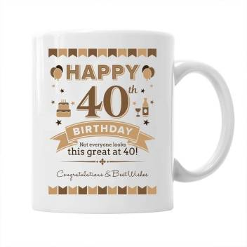 Devron 40th Birthday Gifts For Men