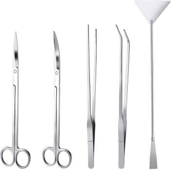 Jainsons Pet Products Aquascaping Cleaning Tools Straight Curved Scissors Substrate Spatula Straight Bent Tweezers Aquarium Tool Price In India Buy Jainsons Pet Products Aquascaping Cleaning Tools Straight Curved