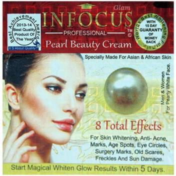 Glam Infocus Professional Pearl Beauty Cream Price In India Buy Glam Infocus Professional Pearl Beauty Cream Online In India Reviews Ratings Features Flipkart Com