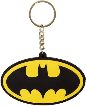 DC Comics Batman Logo Rubber Keyring
